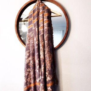 STUNNING Anthropologie scarf wrap
